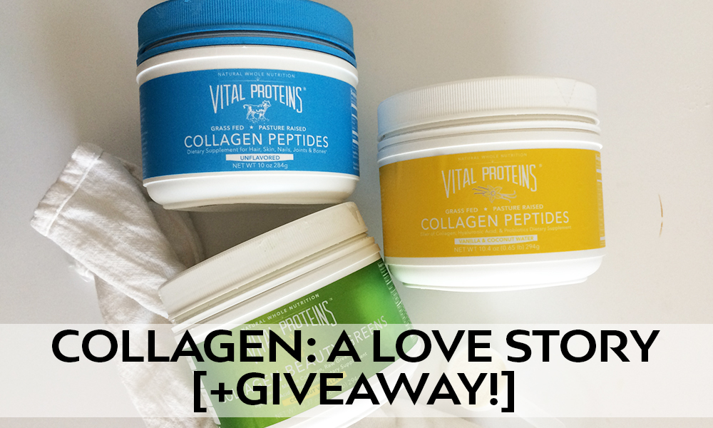 Collagen: A Love Story [+ giveaway closed ]