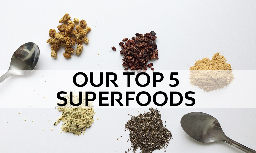 Top 5 Superfoods