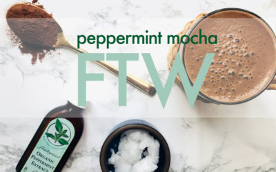 Peppermint mocha: Our latest obsession